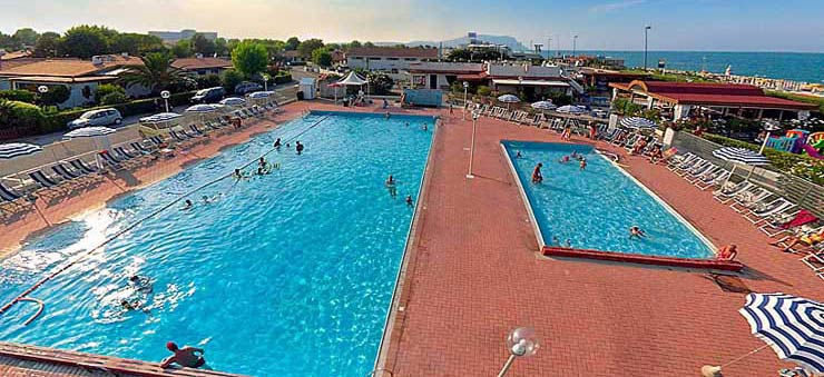 marche tourist villages with swimming pool